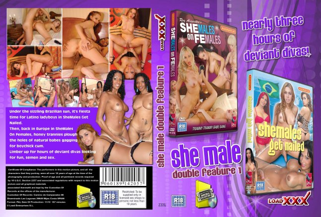 She-Male Double Feature 1