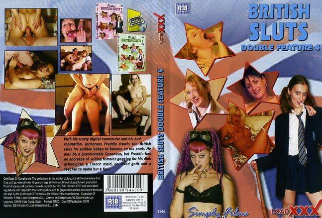British Sluts Double Feature 4