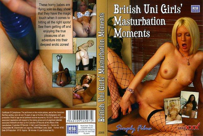 British Uni Girls' Masturbation Moments
