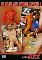 Blue Blake Muscle Pack 1 (2 Dvds)