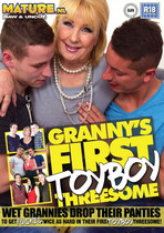 Granny's First Toyboy Threesome